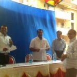 Disribution of Khatha by MLA MR Satish Reddy